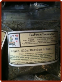 Ginger Elderberries n Mint